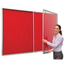 FlameShield Tamperproof Noticeboard