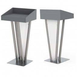 Metal Pulpit Speech Rostrum