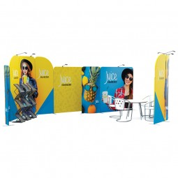 Modulate™ Pop Up Tension Fabric Display