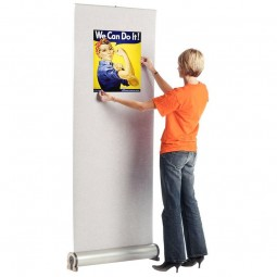 Omega fabric banner stand