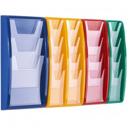 Leaflet Dispenser in choice of colours