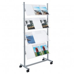 Perspex Literature Rack Acrylic Shelves
