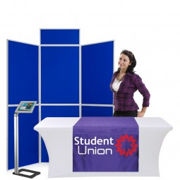University display - ideal for freshers fairs