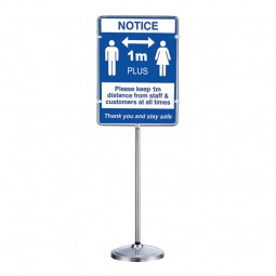 Versapost 40 - 850 x 630mm Sign Holder Stand