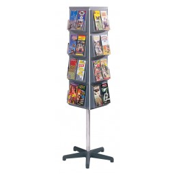 4 Sided Brochure Rack