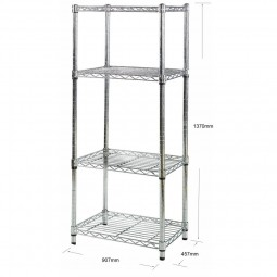 Chrome wire racking