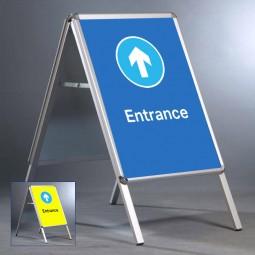 "Entrance Design 20""x30"" A Board - INCLUDES POSTERS"