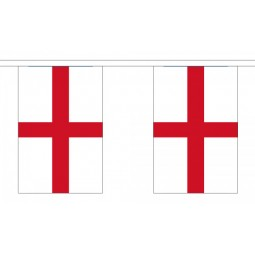 St George Bunting - Large 30 Flags