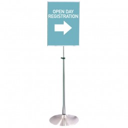 Height adjustable sign - Versapost 10