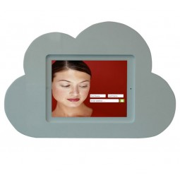 Cloud Shape Wall Mounted Tablet Display