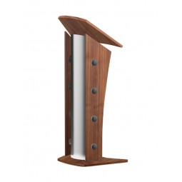 Walnut Finish Lectern