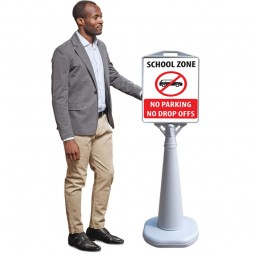 Plastic Water Based Outdoor Sign Holder
