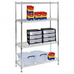 Exhibition shelving unit