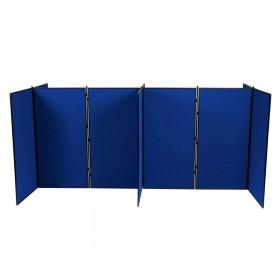 10 Panel Jumbo Slimflex Display - Plastic Frame