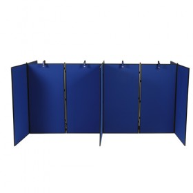 10 Panel Jumbo Slimflex Display - Plastic Frame