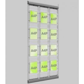 12x A4 Rotating Micro Bevel Edge Light Panels