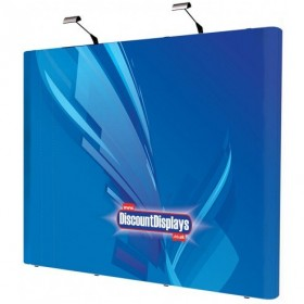 3x4 Straight Pop Up Stand - Graphics