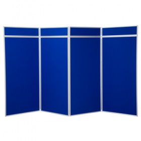 4 Panel Jumbo Folding Display - Aluminium