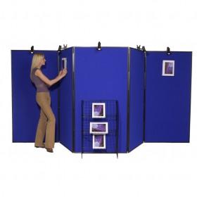 5 Panel Jumbo Folding Display - Plastic Frame