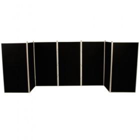 7 Panel Jumbo Slimflex Display - Plastic Frame