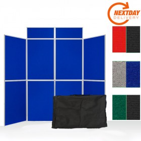 8 Panel Folding Display Board