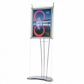 Contemporary A2 Poster Stand