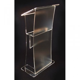 Frosted Effect Lectern