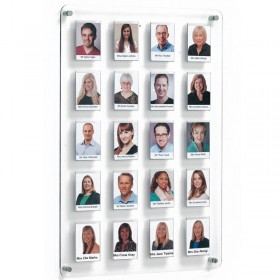 Clear Acrylic Staff Board