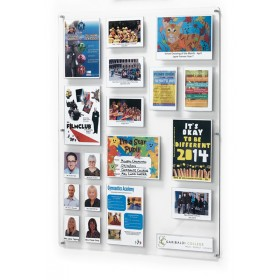 Clear Acrylic Information Board