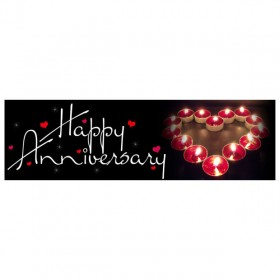 Banner - Happy Anniversary - 357