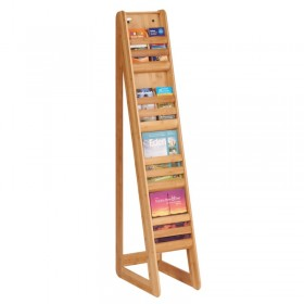 Bamboo Freestanding Literature  A4 or 1/3A4