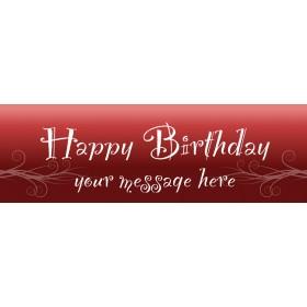 Happy Birthday - Banner 215