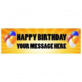 Banner - Happy Birthday - 273