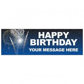 Happy Birthday - Banner 185