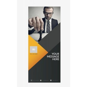 Business Banner 8 - Banner Stand 128