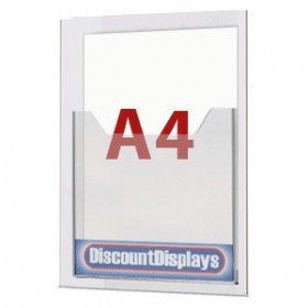 Cable System Leaflet Dispenser - 1xA4 on A4 Centre