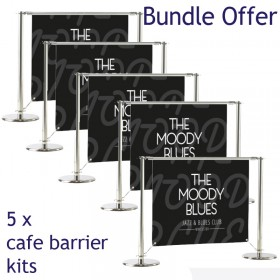 Medio Cafe Barrier Bundle