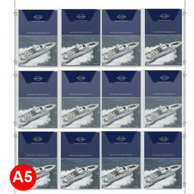 12x A5 Leaflet Dispenser Kit