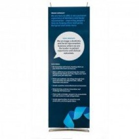 D4 Konnect Tensioned Banner Stand
