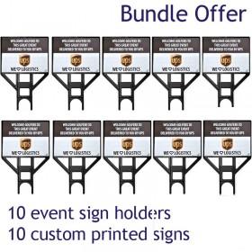 Stepframe Sign 10 Pack Bundle