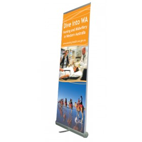 Eco Roller II Banner Stand - Double Sided