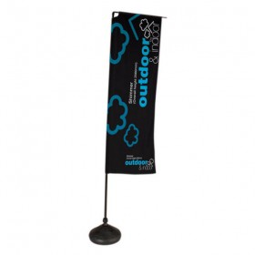 2.6m Portable Shimmer Flagpole