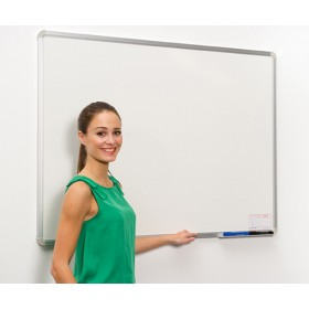 Budget Dry Wipe Board - Anodised Aluminium Frame