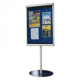 Exterior Stand Mounted Notice Board