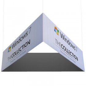 Triangular Exhibition Hanging Banner