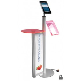 iPad Display Stand w/ Brochure Holder