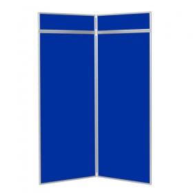 2 Panel Folding Jumbo Stand - Aluminium Frame
