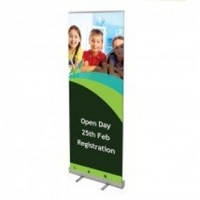 Economy Banner Stand 800mm