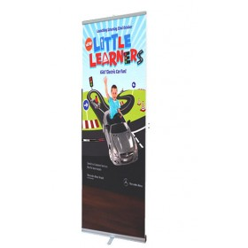Eco Roller Banner Stand - 845mm Wide - Single Sided