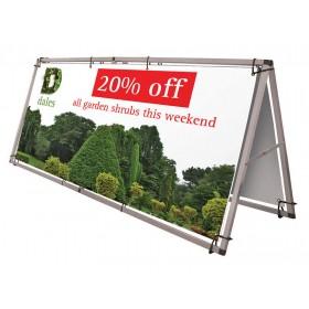 Monsoon Portable Banner Frame